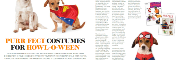 Pet Halloween Costume Trends